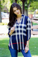 Miracle Plaid Tops