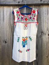 Little Girls Puebla Dress (Market Multi)