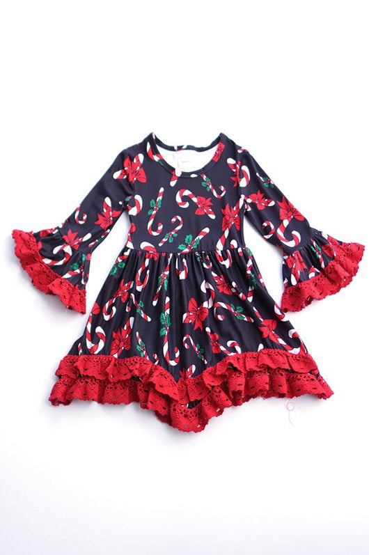 Kids Flash Sale Candy Cane Dress