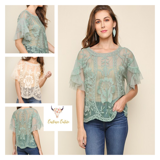 The Haley Lace Top