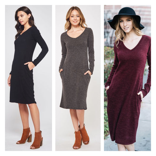 Cecilia Sweater Dress