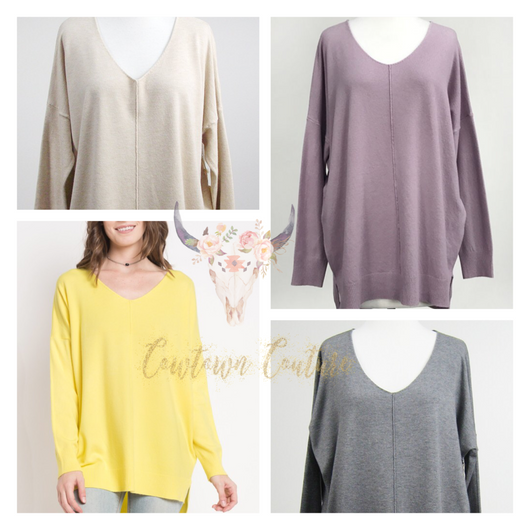 The Must Have Super Soft Sweater Tunic