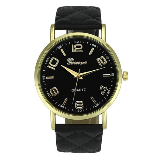K57 - Unisex Geneva Leather Watch