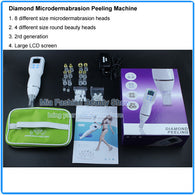 Portable Diamond Microdermabrasion Face Pore Cleaner