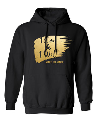 IC&IW Hooded Sweatshirt-BLK/ Gold