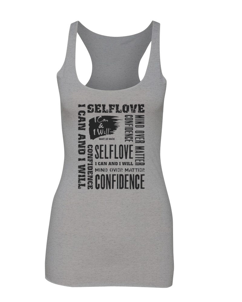 Graffiti Tank - Grey