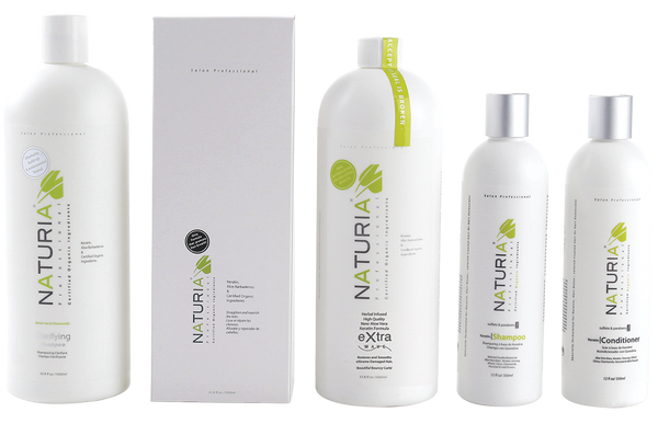 extra wave keratin treatment package