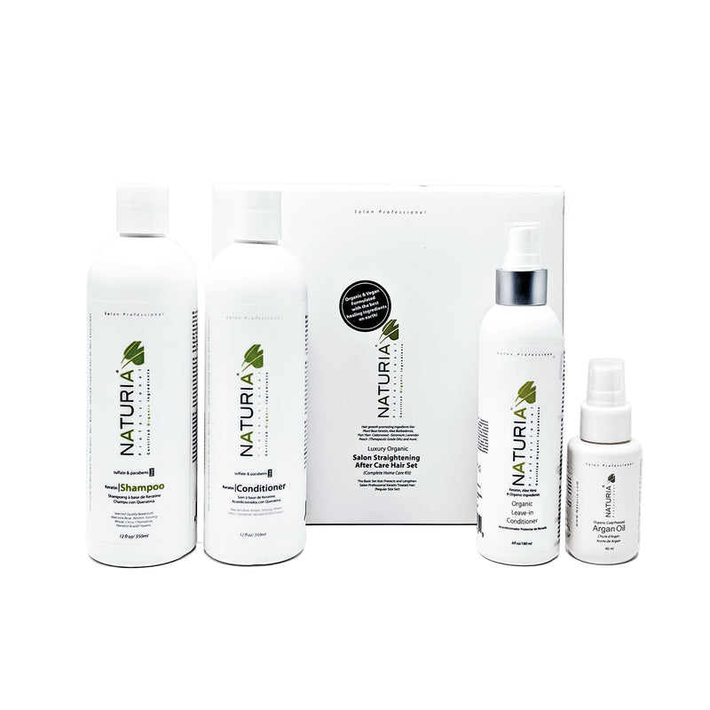 Keratin Protectant Organic Moisture Luxury Home Kit Care Package