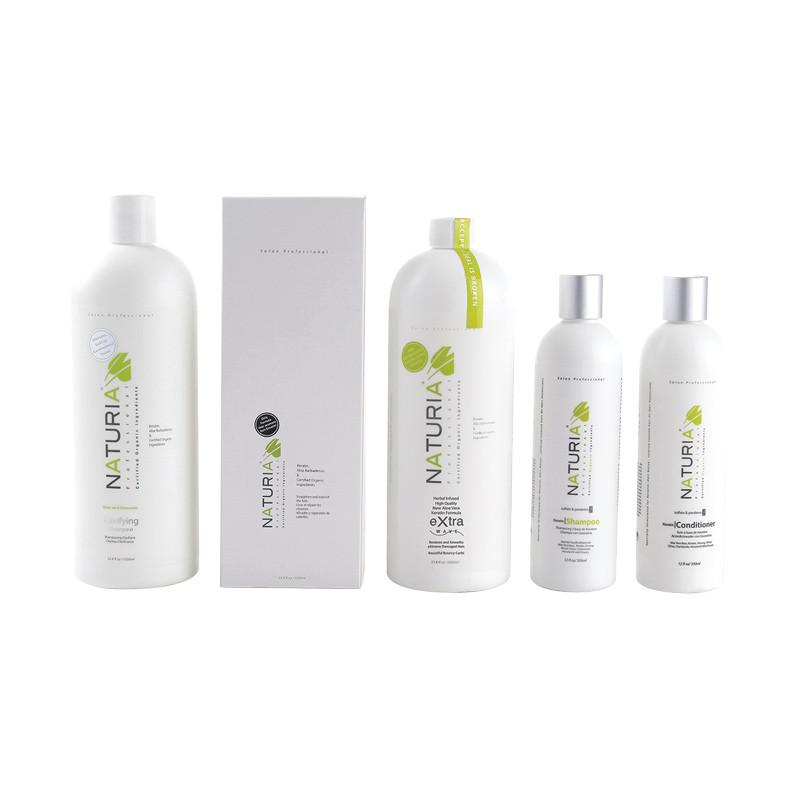 naturia extra wave keratin treatment package