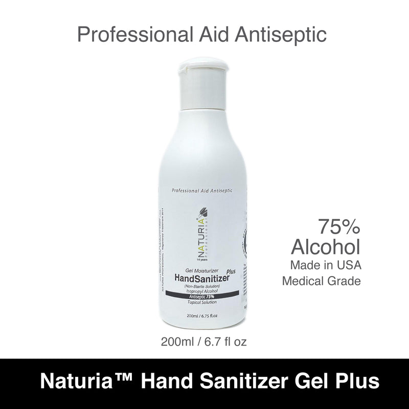 Naturia Hand Sanitizer Gel Plus