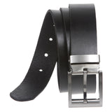 "1 1/4"" Clamp On Nickel Free Cut-to-Fit Top Grain Cowhide Plain Leather Belt"