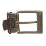 1 3/8 Inch (35 mm) Nickel Free Brass, Silver or Gold Clamp Belt Buckle