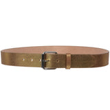 "Snap On 1 1/2"" Crack Print Vintage Retro Leather Belt"