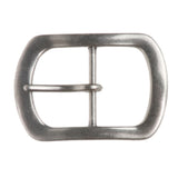 "1 1/2"" (38 mm) Single Prong Oval Center Bar Belt Buckle"