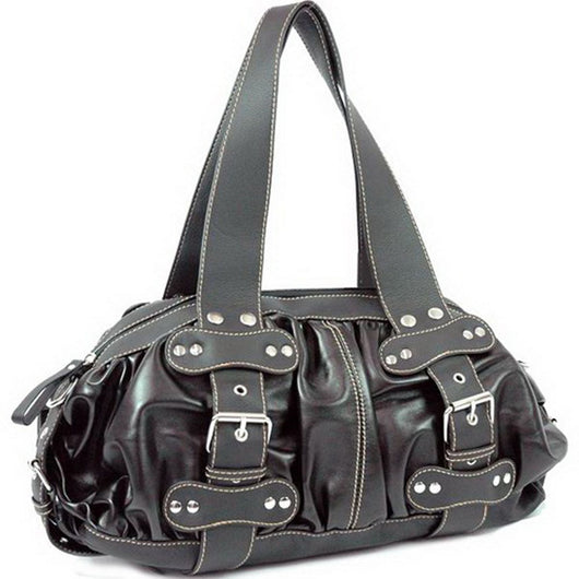 Leather Look Like Shoulder Bag