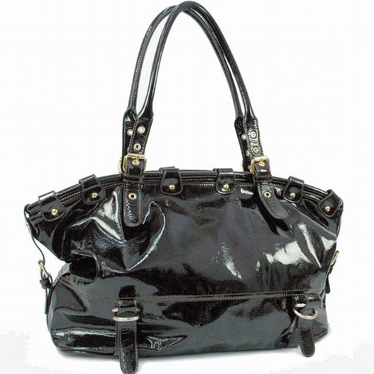 Patent Leatherette Shoulder bag