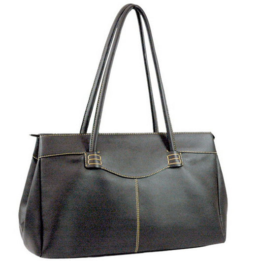 Soft Lamb Skin Leather Look Like Fashion Tote Bag