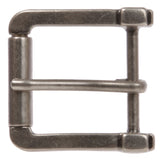 "1 1/2"" (38 mm) Single Prong Rectangular Square Roller Belt Buckle"