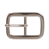 "3/4"" Center Bar Single Prong Rectangular Belt Buckle"