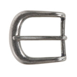 "1 1/4"" (32 mm) Single Prong Solid Brass Horseshoe Belt Buckle"