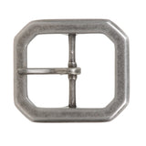 "1 1/2"" (38 mm) Nickel Free Center Bar Single Prong Hexagon Belt Buckle"