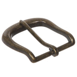 "1 1/2"" (40 mm) Nickel Free Single Prong Horseshoe Belt Buckle"