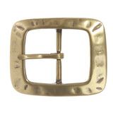 "1 1/2"" (39 mm) Nickel Free Center Bar Single Prong Rectangular Belt Buckle"