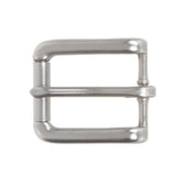 "1"" (25 mm) Nickel Free Single Prong Rectangular Roller Belt Buckle"