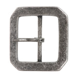 "1 3/4"" (45 mm) Nickel Free Center Bar Single Prong Hexagon Belt Buckle"