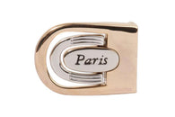 1 1/8 Inch (28 mm) Two Tones Clamp Belt Buckle