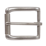 "1 1/4"" (32 mm) Nickel Free Single Prong Rectangular Roller Belt Buckle"