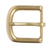"1 1/2"" (38 mm) Nickel Free Single Prong Solid Brass Horseshoe Belt Buckle"