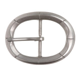 "1 1/2"" (38 mm) Nickel Free Single Prong Oval Belt Buckle"