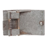 "1 1/2"" Clamp On Rectangular Buckle with Free Belt Strap"