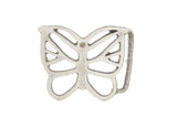 "1 1/2"" See Through Butterfly Belt Buckle"