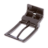 1 1/8 Inch (30 mm) Reversible Clamp Two Tone Belt Buckle