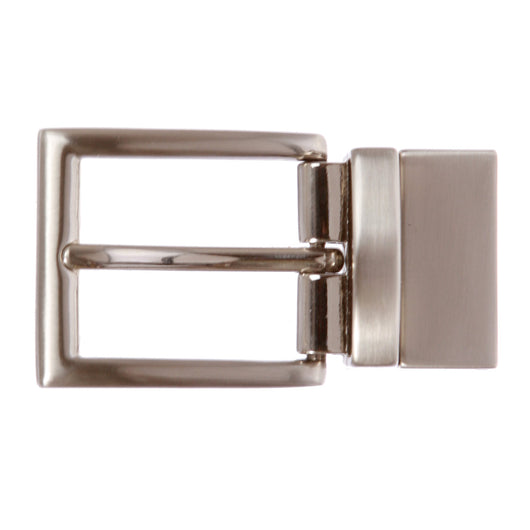 1 1/8 Inch (30 mm) Reversible Clamp Belt Buckle