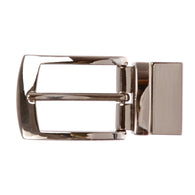 1 1/8 Inch (30 mm) Reversible Clamp Rectangular Belt Buckle