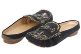 JOHN FASHION Embroidery Fleur De Lis Beads Sandal