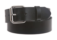 Kids or Extra Small Size Snap On Plain Leather Belt
