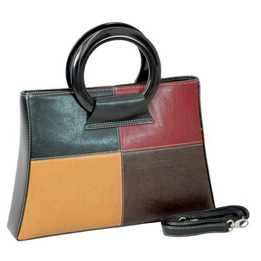 Fine Textured Leather Look Like Fashion Bag