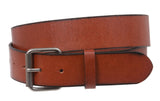 Snap On Oil-tanned One-ply Genuine Leather Belt