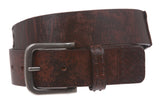 Snap On Oil Tanned Vintage Genuine Leather Belt