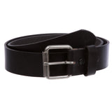 Men's or Women's Classic Roller Buckle Leather Jean Belt