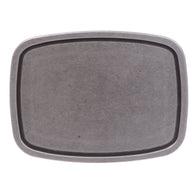 Women's or Men's Rectangular Plain Belt Buckle - Multi Color Options