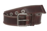 "1 1/2"" Webbing Casual Leather Belt"