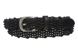 "1"" Comfort Stretch Braided Horseshoe Non Leather Belt"