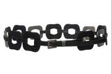 2'' Wide rectangular Disc Link Belt