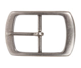 "1 1/2"" (38 mm) Nickel Free Center Bar Single Prong Rectangular Belt Buckle"