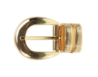 1 1/8 Inch (28 mm) Double Loop Clamp Belt Buckle